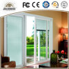 2017 Cheap Factory Cheap Price Fiberglass Plastic UPVC Profile Frame Sliding Door with Grill Insides for Sale