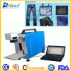 CNC Laser Marker Fiber Laser Marking Engraving Machine for Jeans