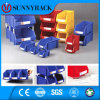 China Manufacturer Selective Color Plastic Material Storage Bin