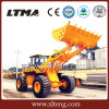 5 Ton Front End Wheel Loader with The Long Wheelbase Design