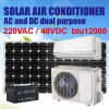 Solar Air Conditioner, on Grid. AC/DC Dual Power