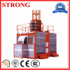 Building Electric Construction Hoist Sc200 Sc100 Double Cage