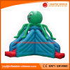 2017 Inflatable Octopus Jumping Bouncy Inflatable Slide (T4-604)