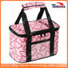 Cute Bear Printed Igloo Lunch Cooler Bag for Camping Hiking Sporting