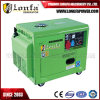5000W/5kw/5kVA Silent Soundproof Key Start Power Diesel Generator for South Africa