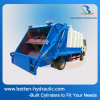 Multi Stage Double Action Compression Cylinder for Sanitation Truck
