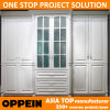 Oppein Modern White Built in Swing Doors Lacquer Wardrobe (YG61530)
