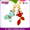 Factory Direct Sale Gold Plated Jewelry Gold Fish Charm #18270