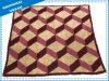 Single Geometry Fleece Wool Blanket