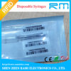 2016 Hot Sale Em4305 RFID Animal Glass Tag with Microchip Syringe