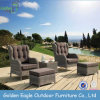 Comfortable Outdoor Furniture Rattan Single Sofa Set