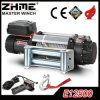 Recovery Electric Winch with 12500lbs Rated Line Pull