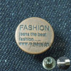 Jeans Jacket Metal Custom Brand Buttons for Coats