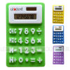 Mini Size 8 Digit Silicon Foldable Gift Calculator with Magnet (LC519)