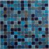 300 *300 mm Building Material Blue Ceramic Glass Mosaic Tile (FYSND14E)