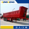 Heavy Duty 80t Rear Dump Tipper Semi Trailer