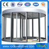Long Service Life Stainless Glass Revolving Door