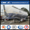 55cbm 3axle Grain Powder Tanker with Front Lifting
