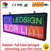 RGB Full Color LED Sign 18′′x40′′/ Support Scrolling Text LED Advertising Screen / Programmable Image Video Outdoor LED Display