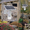 9W Lithium-Ion Battery Solar Garden Luminaire with Cheap Price