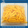 China Supplier for M6*30 Yellow Plastic PE Anchors