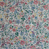 Cotton Plain Fabric with Flower Printed for Apparels (30X30/68X68)