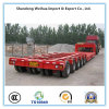 150t Multi Axles Heavy Equipment Trailer, Low Bed Semi Trailer