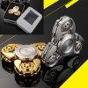 Metal Alloy Tri Spinner EDC Spin Fidgets Anti Stress Sensory Metal Finger Spinner Hand Spinner Reduce Pressuse