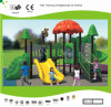 Kaiqi Medium Sized Forest Themed Children′s Playground with Slides (KQ30039A)