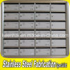 Wall Mount Stainless Steel Apartment Mailbox