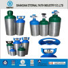 2L Small Portable Oxygen Aluminum Gas Cylinder