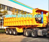 Strenthened Heavy Duty Rear Tipping Semi Trailer (HTC9400ZHX)