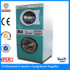 Coin Operated Heating Commercial Stack Washer Dryer