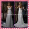Elegant Bridal Gowns Chiffon Court Train Applique Wedding Dresses Z8054