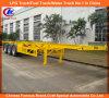 Heavy Duty 40ft 3 Axle Skeletal Container Semi Trailer