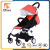 2017 Latest Model Aluminium Alloy Baby Stroller with Folding Function