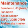 Repair and Calibrate Service for Fujikura Sumitomo Fusion Splicer/OTDR/Anritsu Site Master