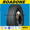 Roadone Long Distance Wearable Truck Tyre Hf01 Pattern 12r22.5 Tubeless Radial TBR Tyre