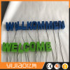 Outdoor Hanging Letter Sign Free Standing Metal LED Signs