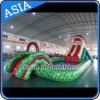 Inflatable Water Park with Pool and Slide, Inflatable Vivid Water Park