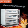 Big Capacity Professional Bread Bakery Equipment Pizza Gas Oven