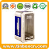 PVC Window Tin Box for Electronics Toy, Gift Tin Container