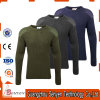 Olive Green Army Wool Sweater Pullover with Shoulder Elbow Patches