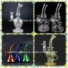 14 Inch Tall Stereo Matrix Perc Recycler Mothership Styles Glass Water Pipe