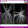 Crazy Inflatable Silver Performance Costume Lady Gaga Wearing Star Decoration Stage Party Club Decoration