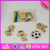 2016 Hot Sale Baby Threading Wooden Educational Toys W11e054