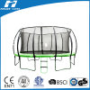 12FT Big Lantern Trampoline with Safety Net Outside