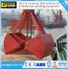 25t Wire Rope Grab Clamshell Bucket for Cargo Bulk