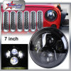 "Auto Car Lighting 45W 7"" Round LED Daytime Running Light DRL for Jeep Halo, Headlamp DOT SAE, Car LED Headlight for Jeep Wrangler"