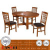 Butterfly Leaf Chair and Table Dining Set Wooden Furniture
